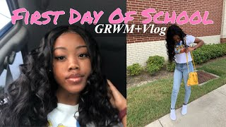 GRWM: First day of school *senior edition*
