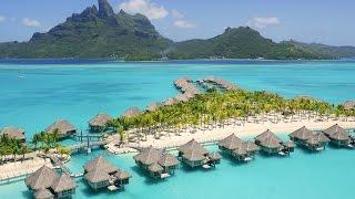 The St Regis Bora Bora Resort. Отдых на Бора Бора(Онлайн путешествие по Бора Бора. По богатству отделки The St. Regis Bora Bora Resort не имеет себе равных. Каждая вилла..., 2015-05-20T03:20:03.000Z)