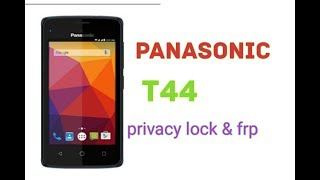 Panasonic T44 privacy lock & frp remove with cm2
