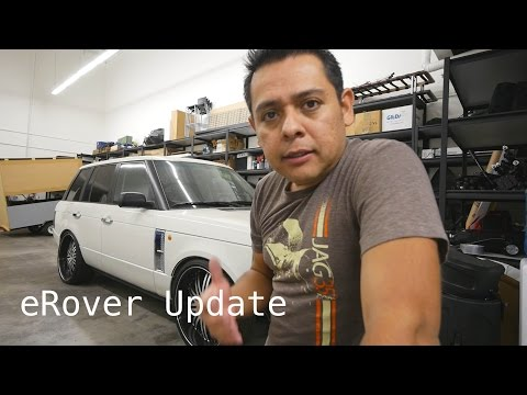 Electric  Range Rover Update