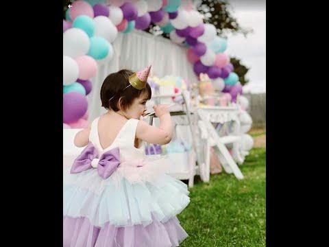 Как Сшить Платье, Детское Платье с валанами из Фатина МК ч.1/ SEW TULLE BEAUTIFUL BABY DRESS DIY P.1