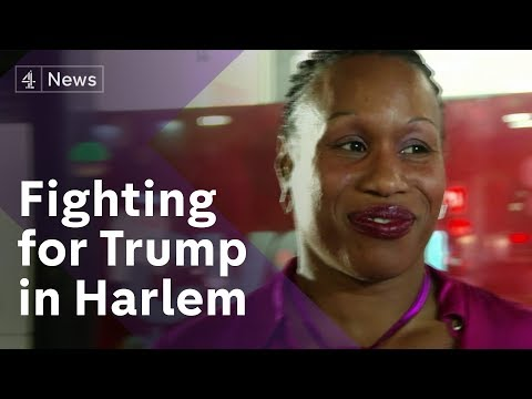 Republicans make case to Harlem voters amid Trump accusations