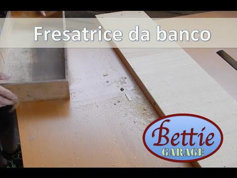 Banco fresa fresatrice fai da te einhell 1100 youtube for Banco fresa fai da te