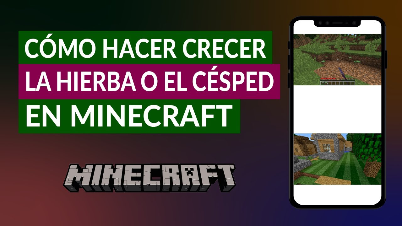 Cómo Hacer Crecer La Hierba O El Césped En Minecraft Trucos Y Consejos Youtube
