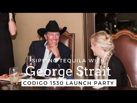 Sipping Tequila With George Strait | Codigo 1530 Launch | sTORIbook TV