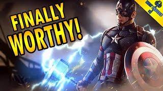 The Moment Captain America Became Worthy of Mjolnir | Avengers Endgame