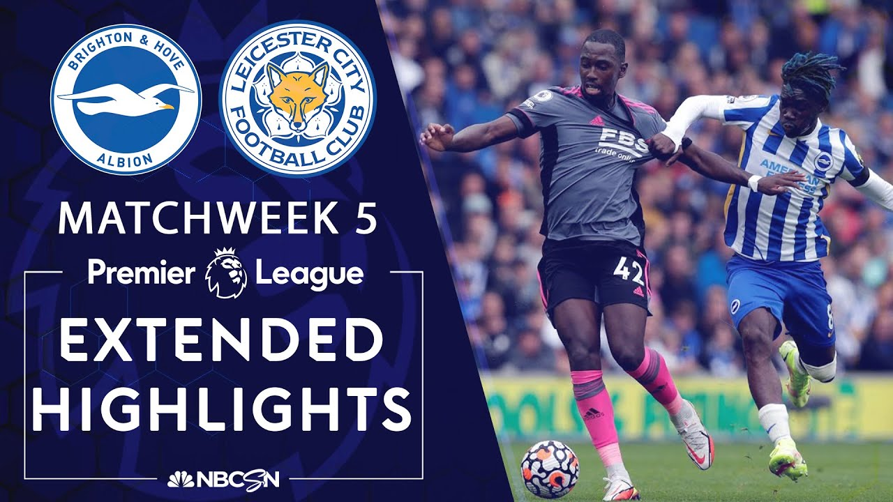 Download Brighton v. Leicester City | PREMIER LEAGUE HIGHLIGHTS | 9/19/2021 | NBC Sports