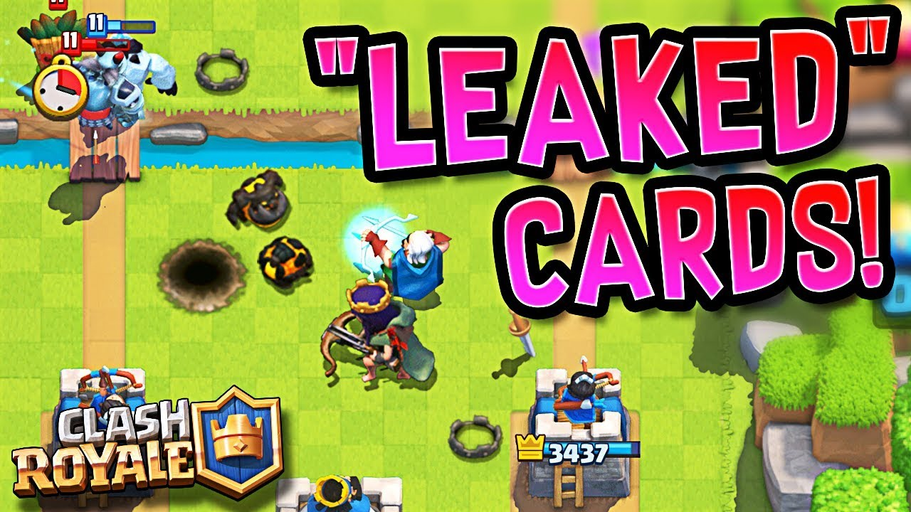 New Cards In Clash Royale 2020 NEW*