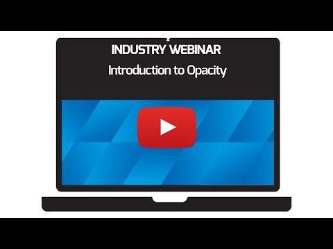 Introduction to Opacity Webinar