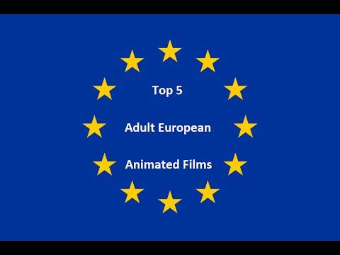 Top 5 Adult European Animated Films