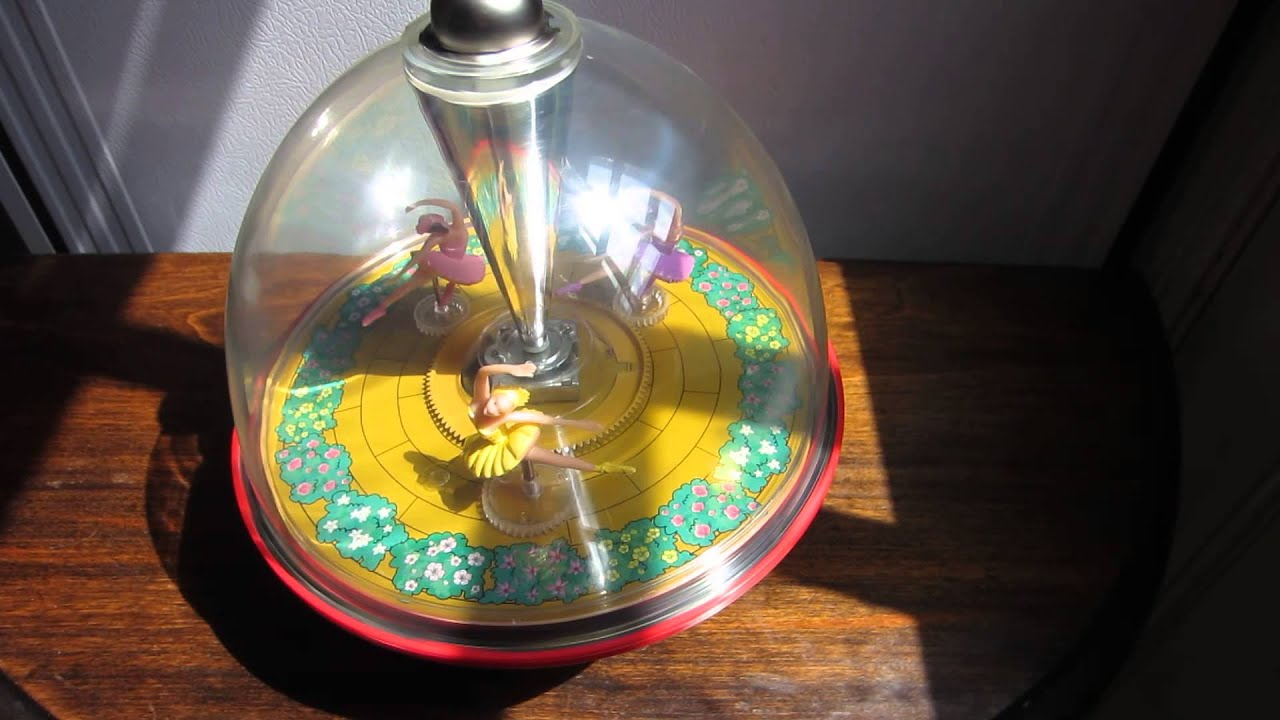 Vintage German 1986 Lorenz Bolz Musical Spinning Top With
