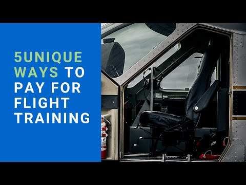 5 UNIQUE WAYS TO PAY FOR YOUR FLIGHT TRAINING