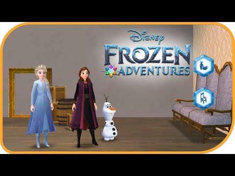 Disney Frozen Adventures - A New Match 3 Game(Portrait Gallery 1) |  Jam City, Inc.|Puzzle| HayDay