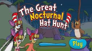 The Great Nocturnal Hat Hunt - The Cat in the Hat Games - PBS Kids