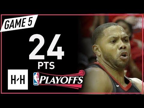 Eric Gordon Full Game 5 Highlights Warriors vs Rockets 2018 NBA Playoffs WCF - 24 Pts!