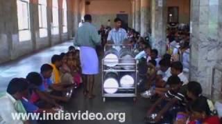 Dinning hall Dharmasthala