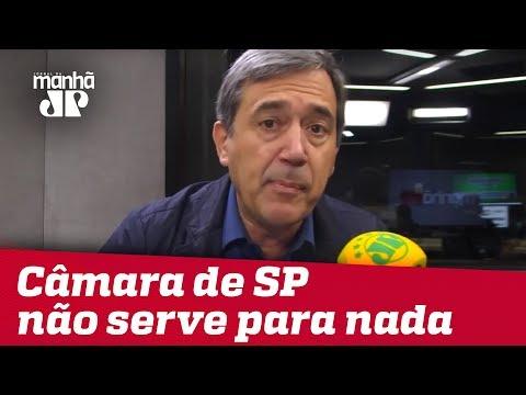 Câmara Municipal de SP não serve para nada, se fechar ninguém percebe | Marco Antonio Villa