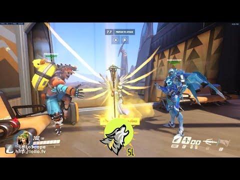 Unlocked Golden Staff | Overwatch | With Sunlord #1