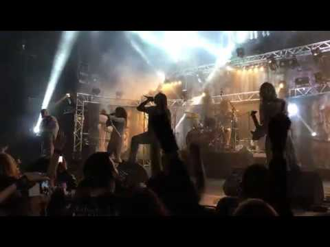 """Lacuna Coil performs """"Nothing Stands In Our Way"""" live in Athens @Piraeus117 Academy, 19.11.2017"""