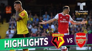 Watford Vs. Arsenal: 2-2 Goals & Highlights | Premier League | Telemundo Deportes