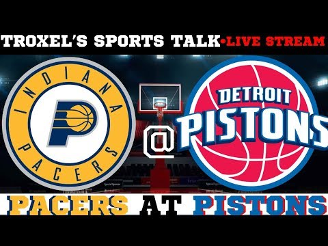 Indiana Pacers VS Detroit Pistons Game Audio/Score Only