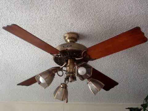 Hunter Original 52 Quot Ceiling Fan Youtube