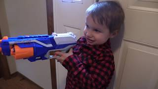 Nerf Cars Blasters Family Fun Time