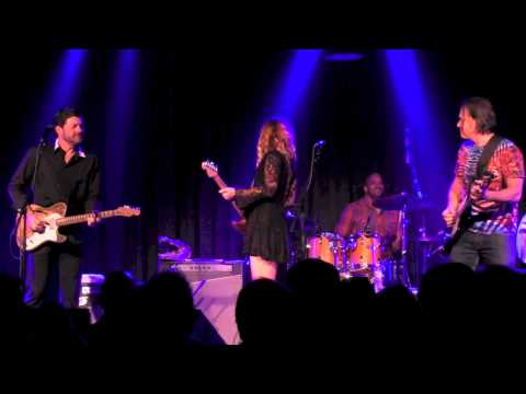 """NIGHT TRAIN""- Tab Benoit & Tommy Castro w/Samantha Fish 12-11-14 The Birchmere"