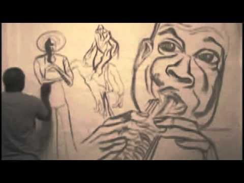 Atlanta Artist Gallery Mural Painting