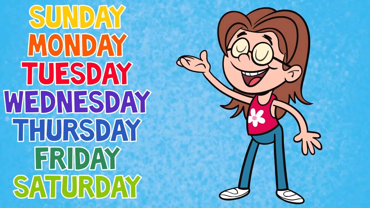 Days Of The Week Song 7 Childrens Songs