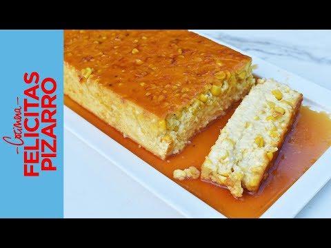 Flan de Choclo | Felicitas Pizarro