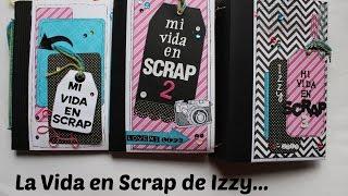 ATENCION PARTICIPANTES DE MI VIDA EN SCRAP 3.... Mini album Scrapbook en español