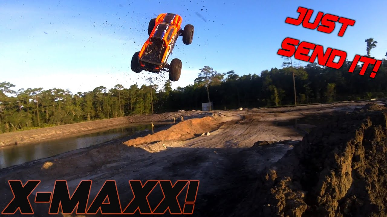 X-Maxx sending it!