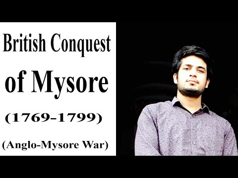 British Conquest of Mysore (Haider Ali , Tipu sultan) - IAS/UPSC lecture by Anuj Garg Sir