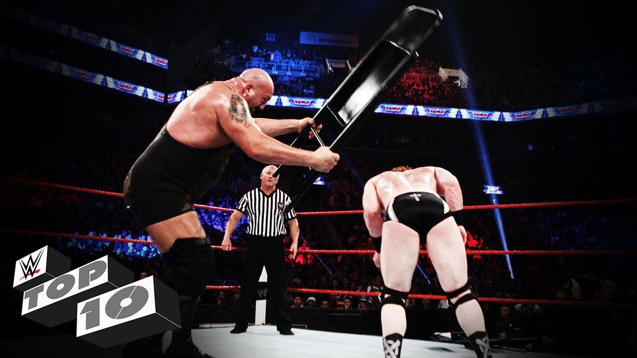 Stunning Steel Chair Attacks: WWE Top 10 - YouTube
