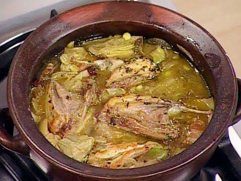 lo-mejor-de-la-cocina-española---codorniz-con-alcauciles,-chícharos-y-habas