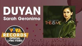 Duyan - Sarah Geronimo [Official Lyric Video]