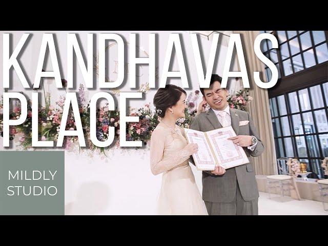 วีดีโอพิธีหมั้นห้อง Kandhavas Place โรงแรม The Athenee Hotel, Wedding Cinematography - Mildly Studio