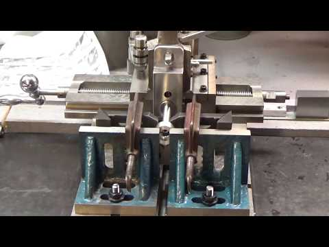 Hand Metal Shaper Cutting An Internal Keyway In a Small Bore