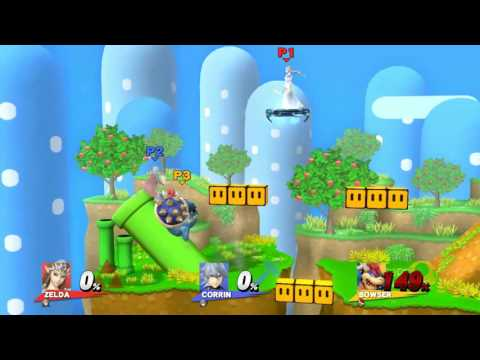 Exactly what you would expect from a match on Yoshi's Island