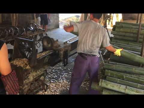 BAMBOO POLE SPLITTING MACHINE 破竹机
