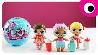 Ляльки LOL Baby Dolls на ШАЛЕНІЙ вечірці ! Сюрприз від Русалоньки   Пупсики ЛОЛ для дітей від Бі!