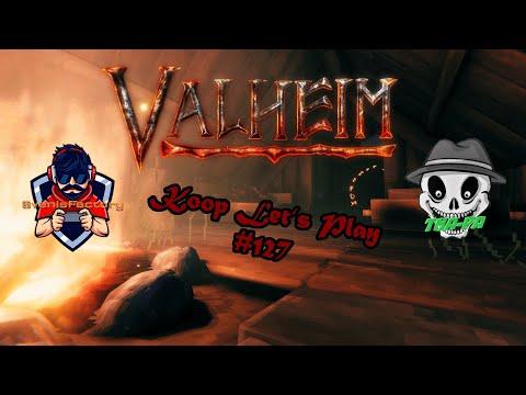 Die Outdoorküche mit Kamin - Valheim Koop Let's Play 127