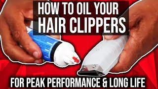 Video How To Oil Your Hair Clippers For Peak Performance & long Life download MP3, 3GP, MP4, WEBM, AVI, FLV Agustus 2018