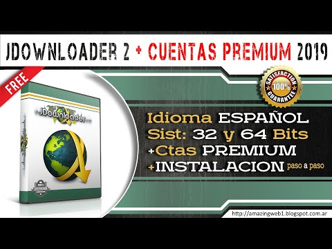 JDOWNLOADER 2 Full En Español + Cuentas Premium 2019