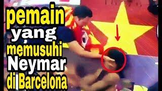 Ini yang di lakukan rekan se tim neymar di Barcelona