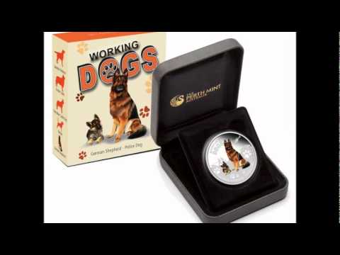 Perth Mint TUVALU Working Dogs Coin Series
