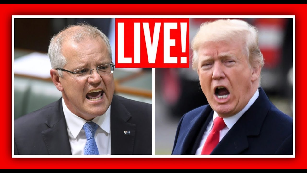 GST  President Donald Trump urgent Press Conference with the Prime Minister of Australia Scott Morri