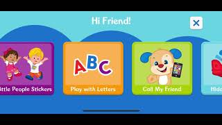 Fisher Price Laugh & Learn App | Shapes and Colours | Alphabet | Call My Friends | Hidden Animals screenshot 4
