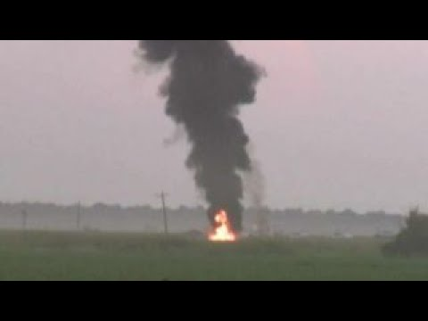 Witnesses shaken by deadly military plane crash